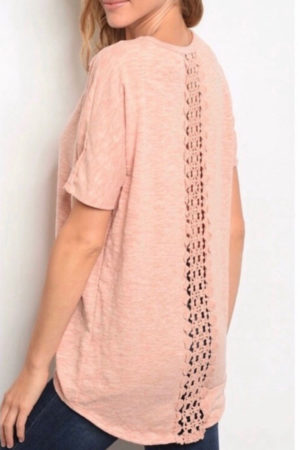 Sweet Claire's Ladder Lace Top